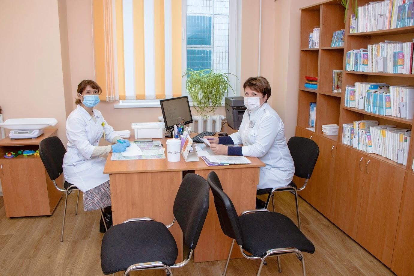 В Днепре продолжают обновлять амбулатории, поликлиники и лечебные центры