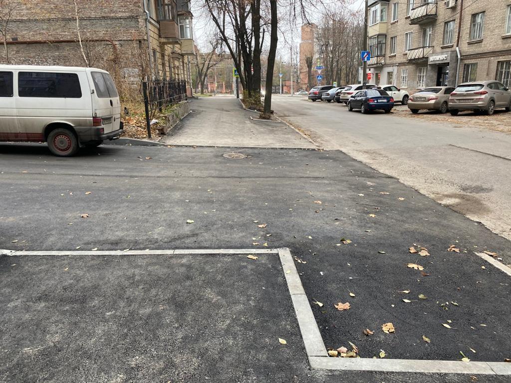 В Днепре продолжают ремонт тротуаров