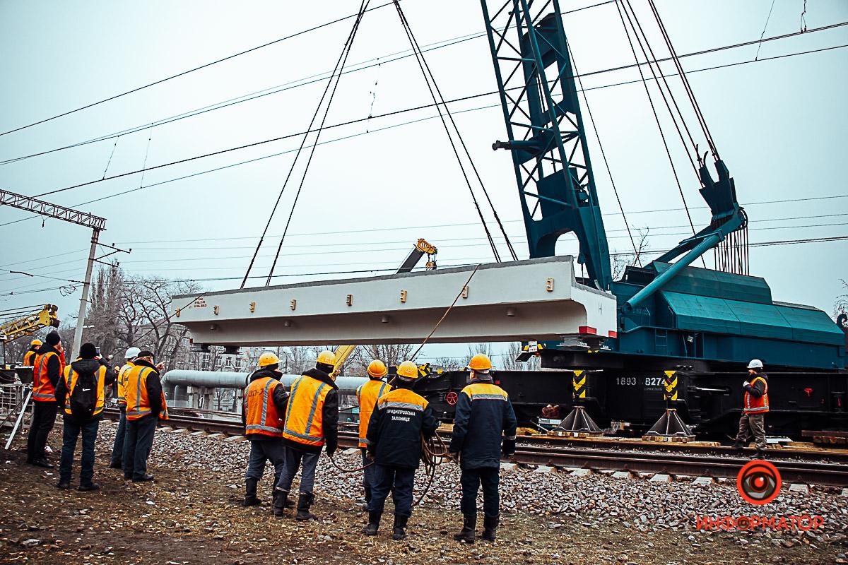 В Днепре на Каруны ремонтируют путепровод: движение по Амур-Гавани парализовано
