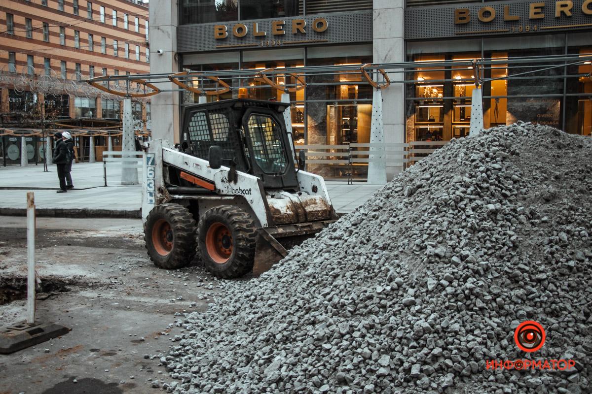 В Днепре из-за ремонтных работ перекрыли проезд по улице Шевченко