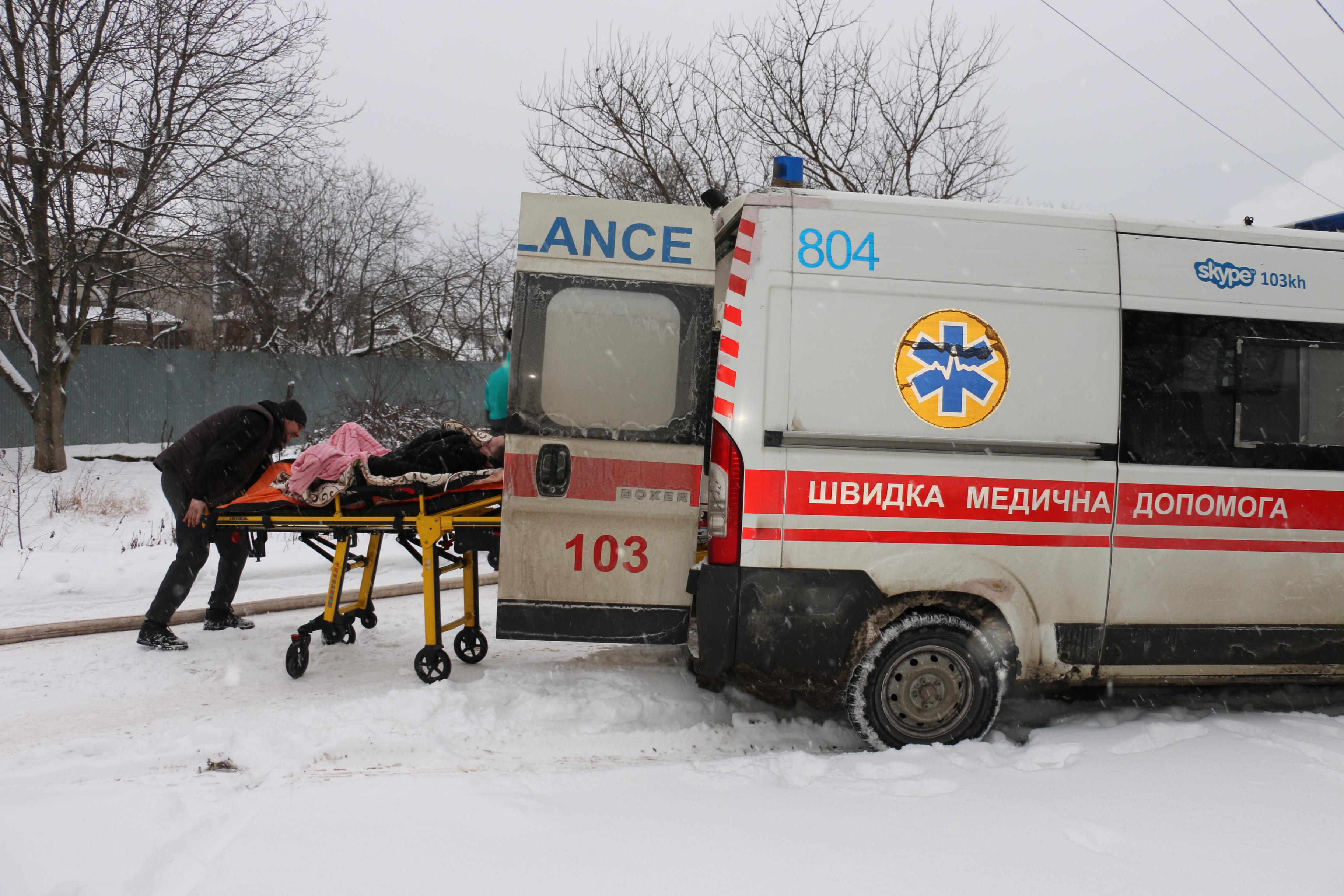 В Украине 23 января объявили днём траура из-за пожара в доме престарелых