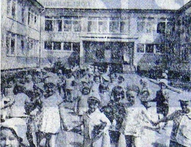 Детский комбинат № 299 завода имени Петровского. Май 1975 года Жилмассиву Красный Камень в Днепре – 50 лет!