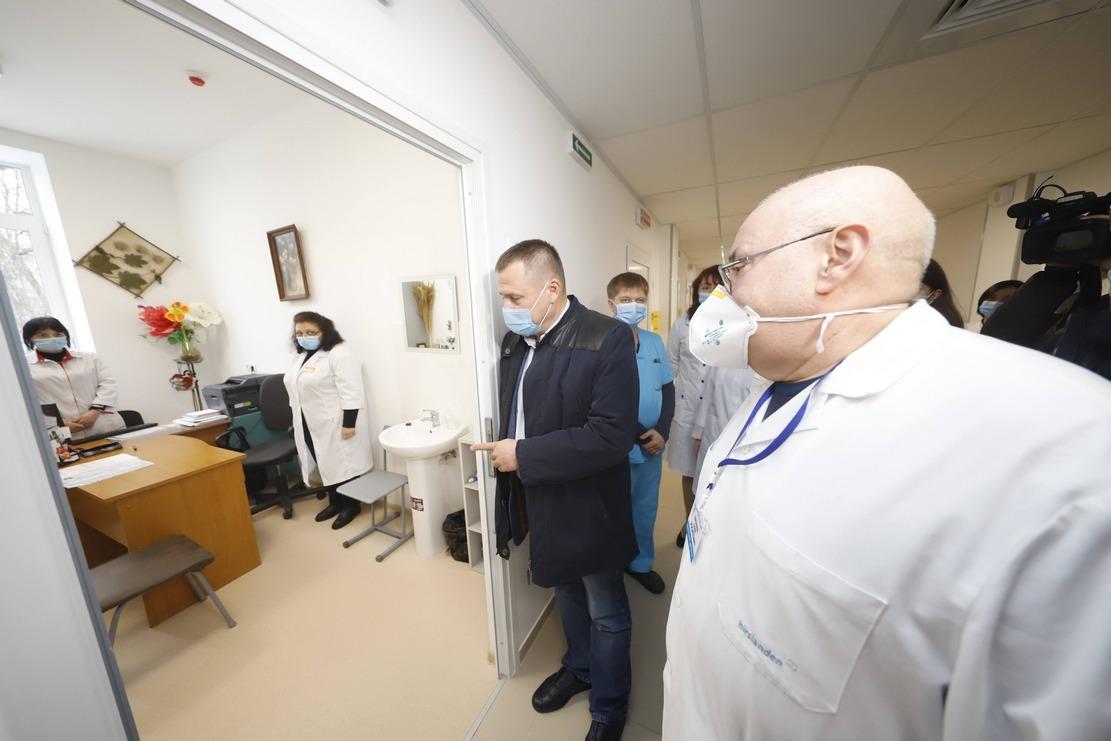 «Кардинальное перевоплощение»: днепряне довольны отремонтированной амбулаторией медцентра № 2 в Шевченковском районе