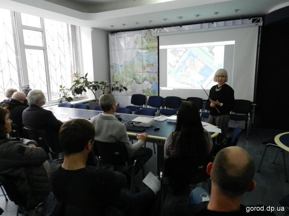Обсуждение Детального плана получилось горячим.  Новости градсовета: Исторический квартал в центре Днепра ждут большие перемены