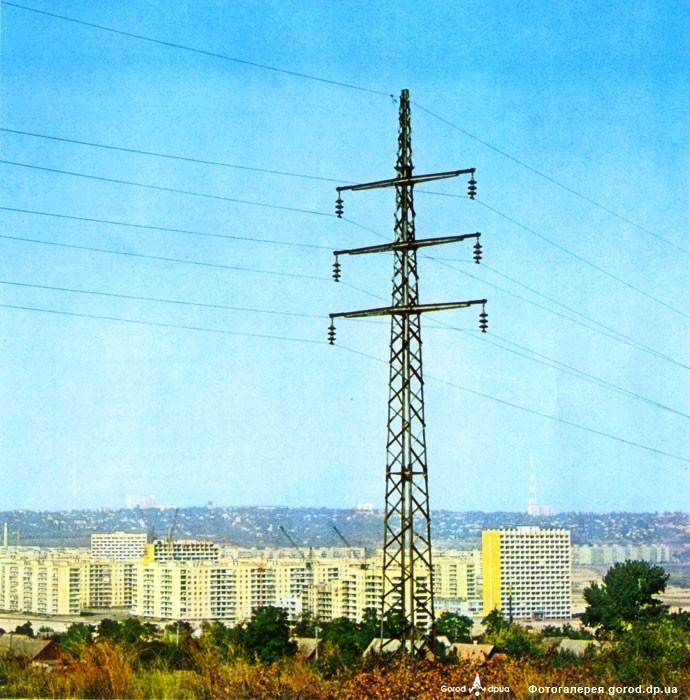 Панорама жилмассива 1980-е годы Жилмассиву Победа в Днепре – 50 лет!