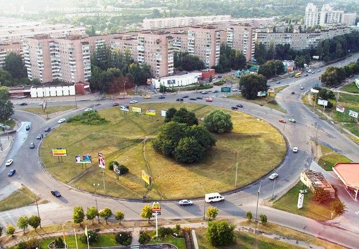 Площадь Победы Жилмассиву Победа в Днепре – 50 лет!