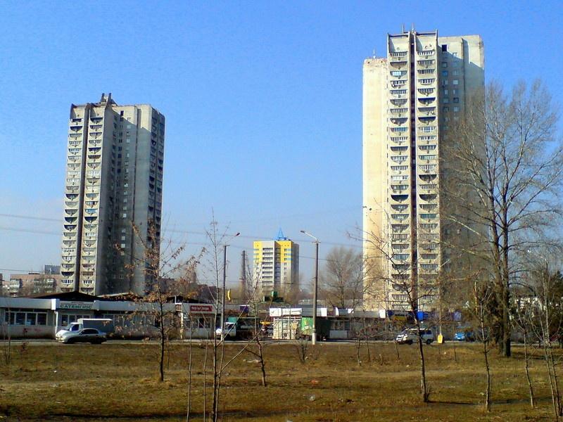 «Дома-свечки» на Победе долгое время были самыми высокими жилыми зданиями нашего города Жилмассиву Победа в Днепре – 50 лет!