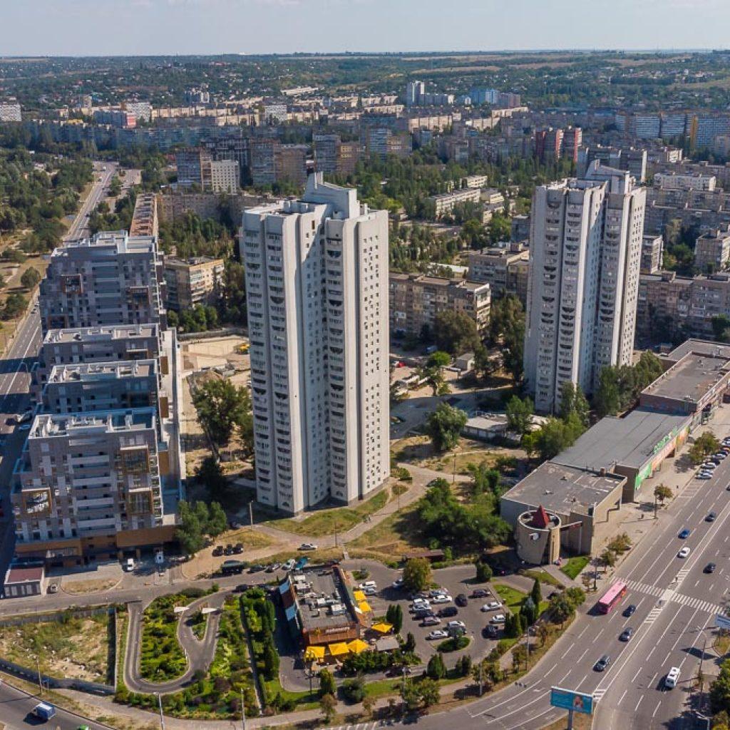 И в наше время на Победе появляются новые здания и объекты Жилмассиву Победа в Днепре – 50 лет!