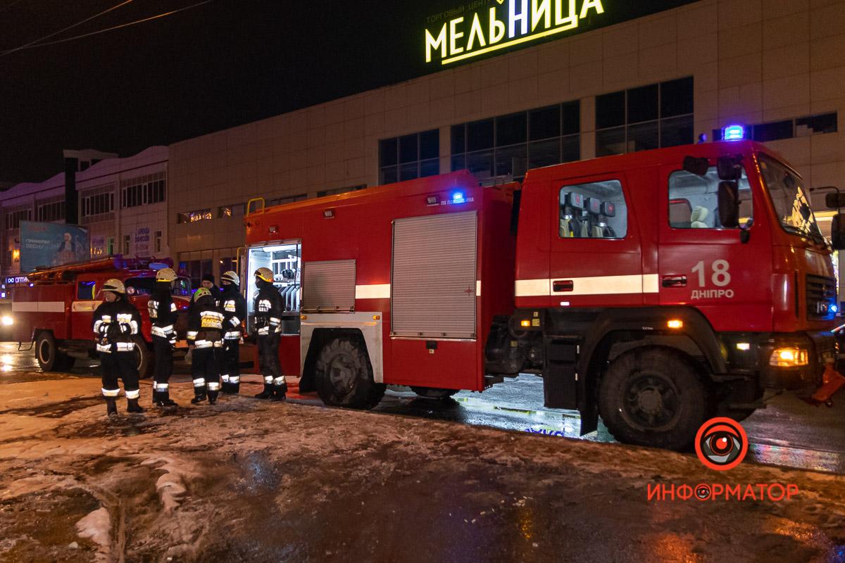 В Днепре на Калиновой горело кафе