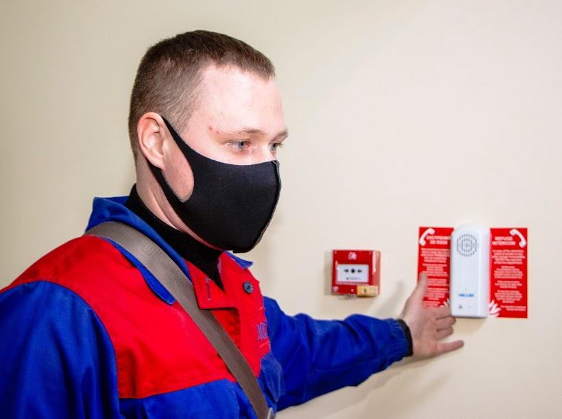 Работников заведения отдыха «Золотой век» научили пользоваться инновационной системой противопожарной безопасности