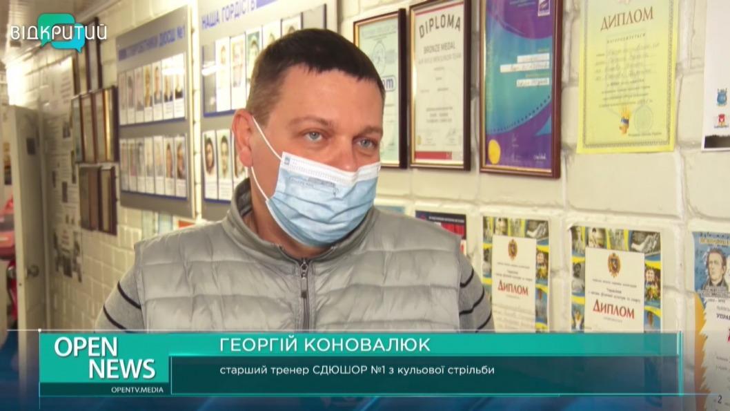 Днепровские стрелки привезли 5 медалей с чемпионата Украины