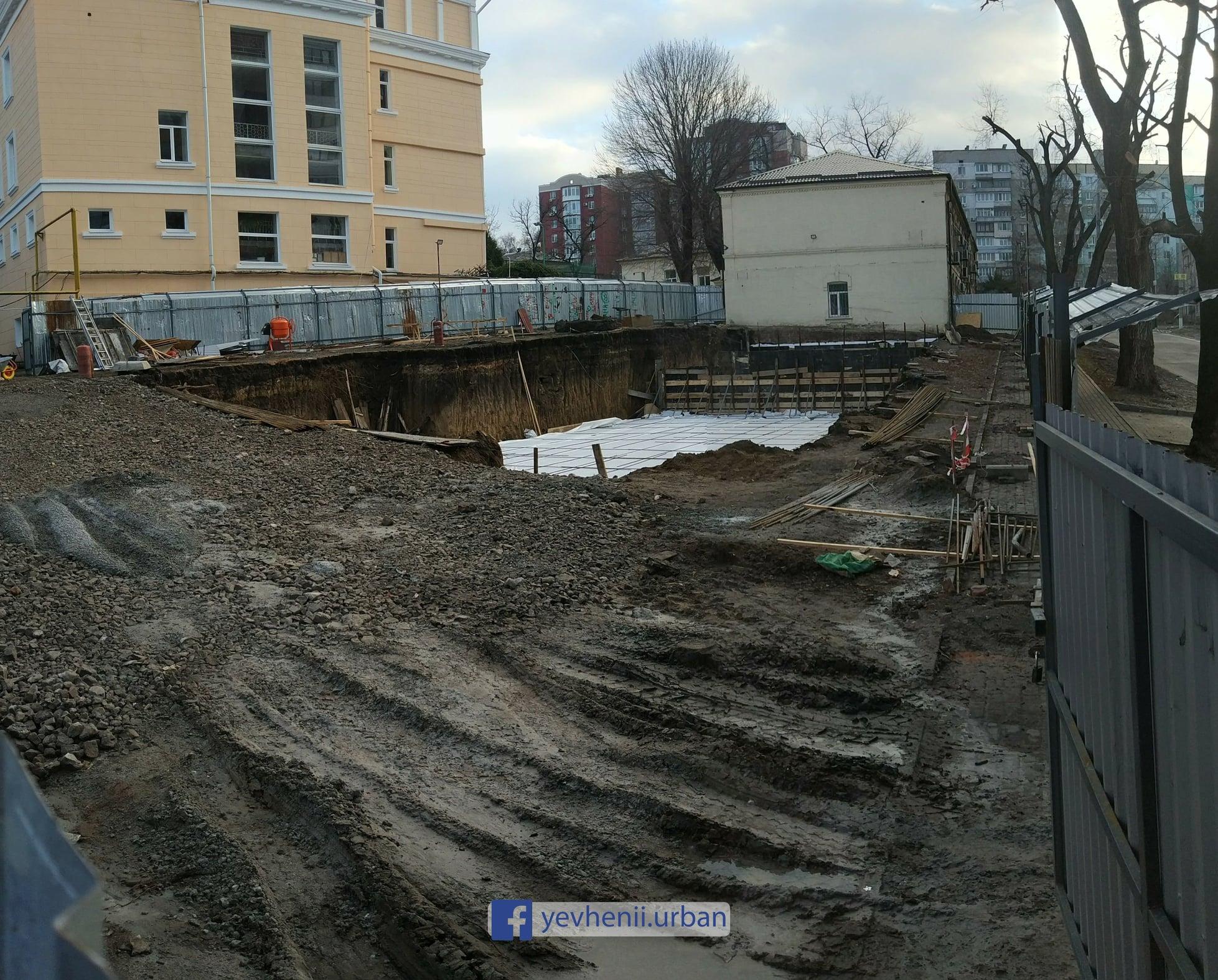 Что строят в Днепре на территории 144-й школы?