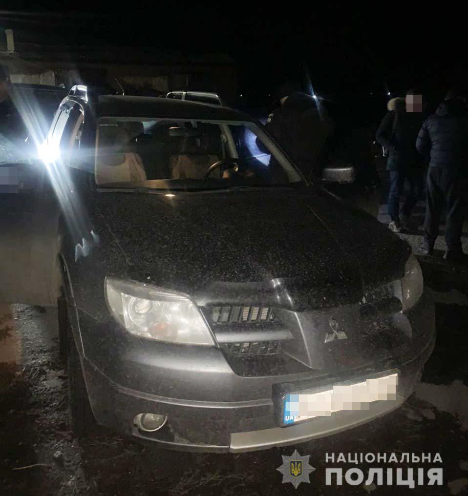 На Днепропетровщине полицейские задержали автовора