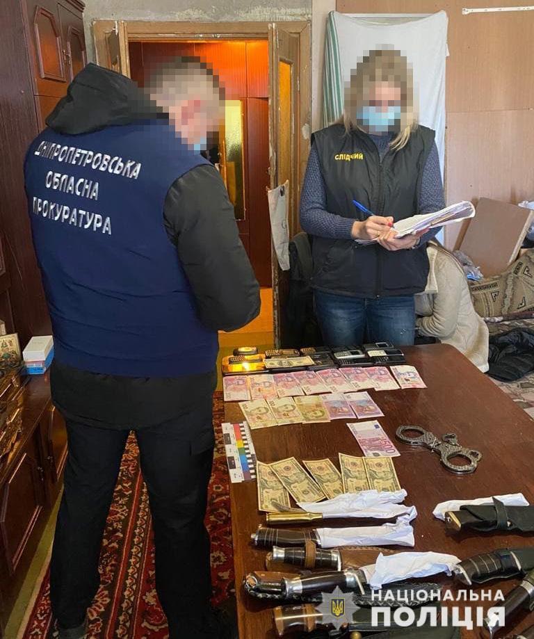 Правоохранители Днепропетровщины перекрыли канал поставки наркотиков в Криворожской исправительной колонии и сообщили «смотрящему» о подозрении