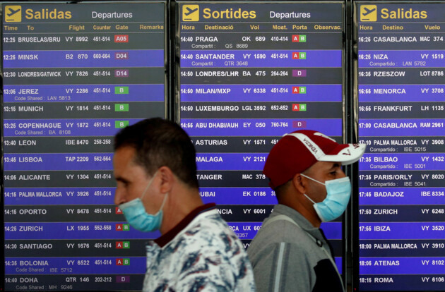 Аэропорт в Барселоне, фото: REUTERS/Albert Gea/File Photo/File Photo