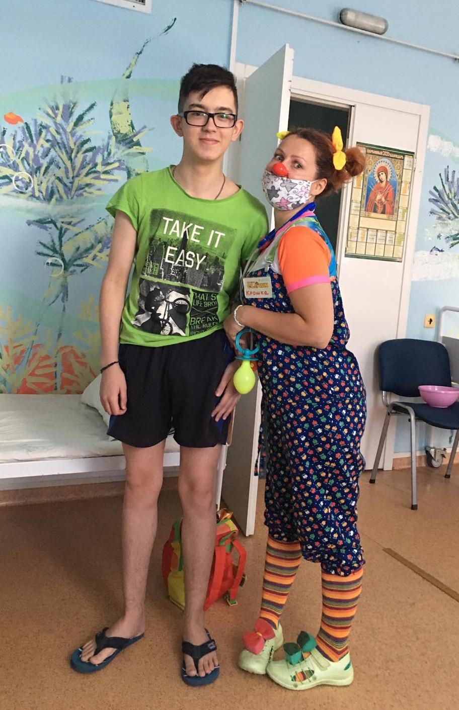 Юноша, проходящий лечение в онкологии Областной детской больницы, нуждается в нашей помощи