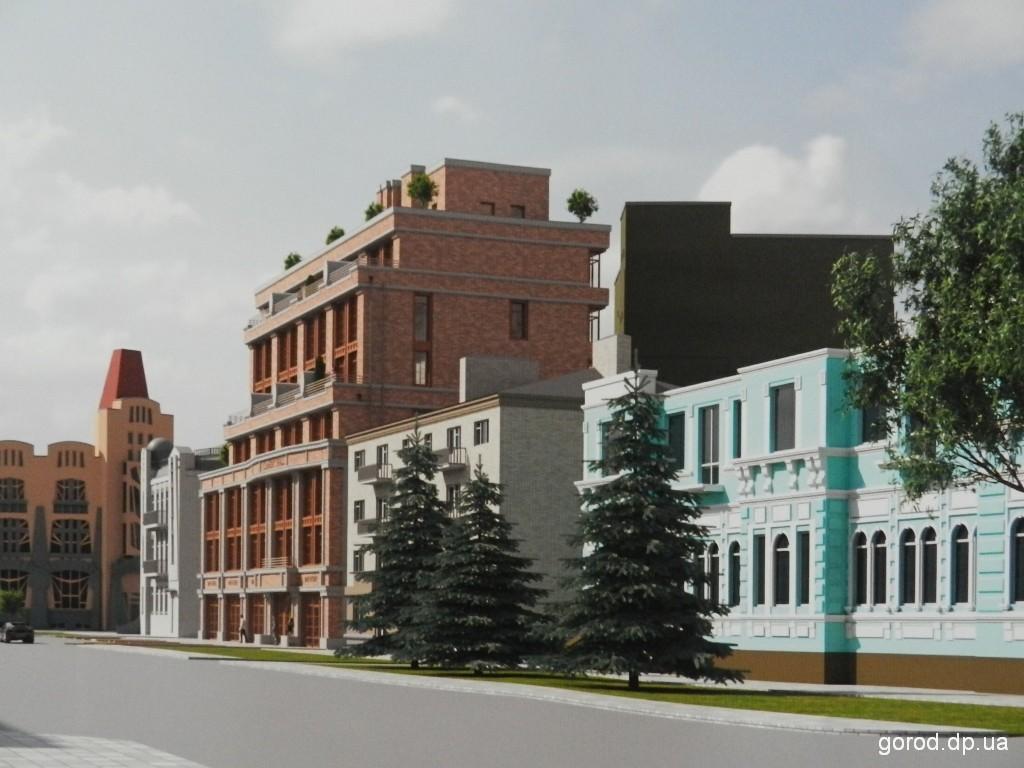 Новости градсовета Днепра: предложения по застройке улицы Исполкомовской и Долгой балки
