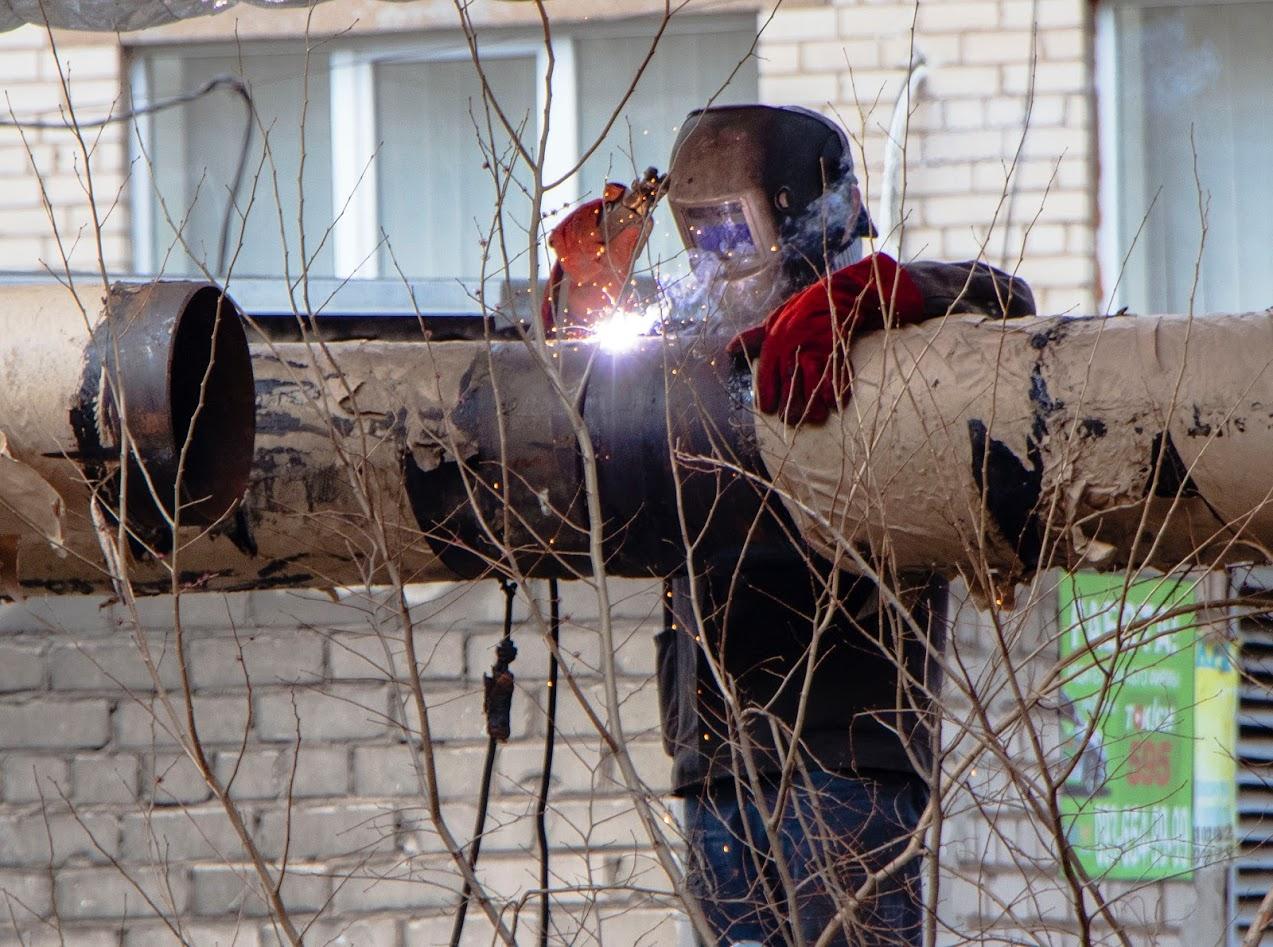 В Днепре капитально ремонтируют сети теплоснабжения