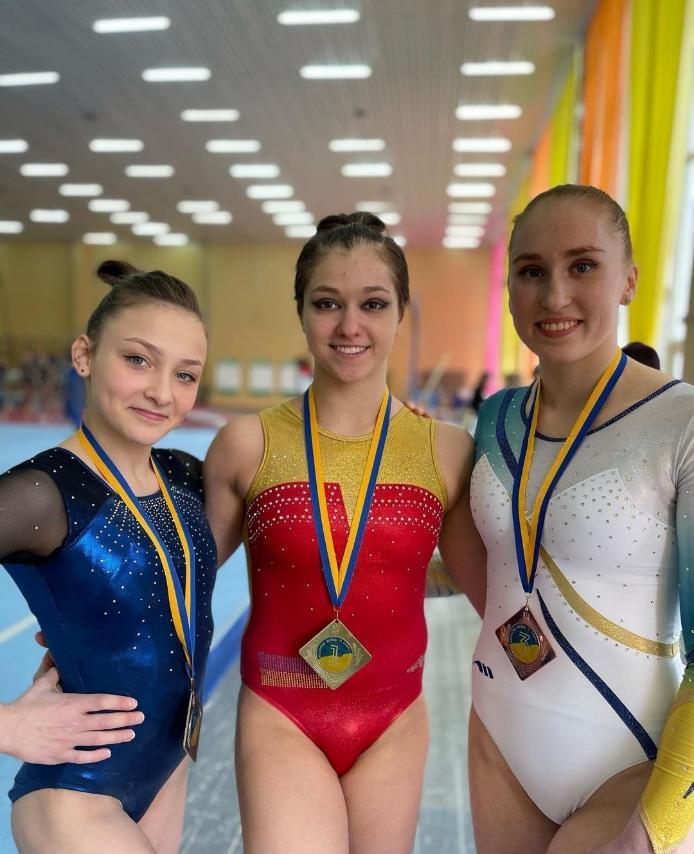 Днепряне получили 7 медалей на чемпионате Украины по спортивной гимнастике