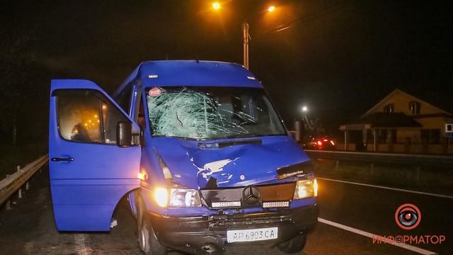 Авто, которое сбило мужчину в Братском