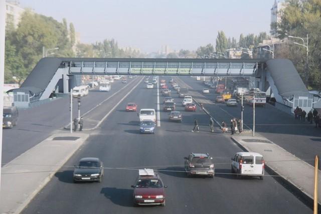 Надземный переход мог бы улучшить ситуацию на дорогах