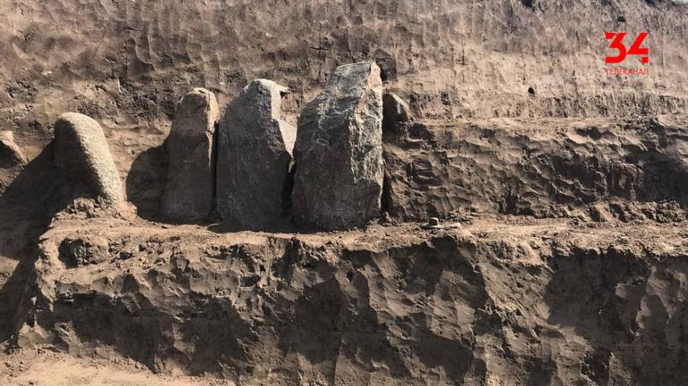 Раскопки кургана: в пригороде Днепра появится свой Стоунхендж