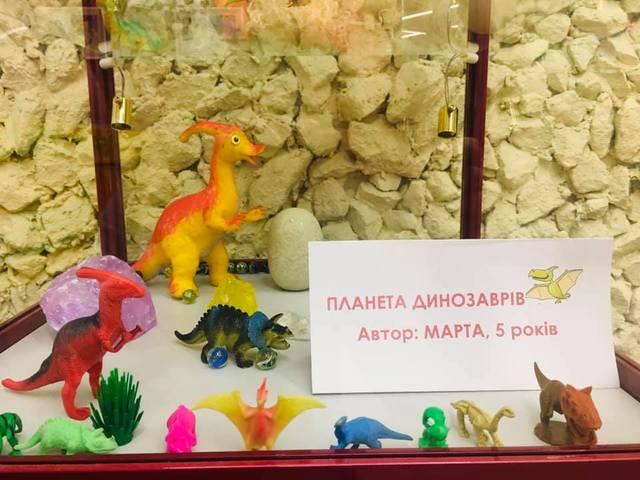 В Днепре открыли новую выставку динозавров