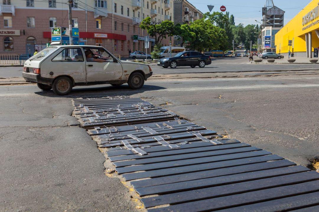 Улица Курчатова в Днепре: после ремонтов будет новый ремонт на 3 млн гривен
