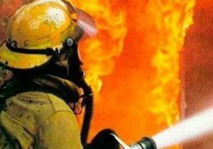 В Днепре ликвидирован пожар в магазине автозапчастей