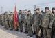 Бойцы 24 батальона вернулись из зоны АТО на Днепропетровщину