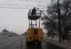 На Слобожанском проспекте обрыв проводов парализовал движение троллейбусов