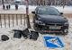 На проспекте Хмельницкого Mitsubishi врезался в светофор: пострадала женщина