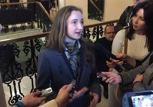 Днепровская фигуристка презентовала костюм олимпийской сборной Украины