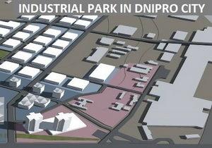 Каким будет Индустриальный парк в Днепре: взгляд с высоты птичьего полета