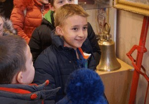 В Днепре дети посетили выставку пожарно-спасательной службы