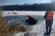 На Днепропетровщине из заброшенного карьера достали тело утонувшего мужчины