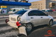В Днепре на Набережной Победы в автомобиль волонтера, который спасает детей, въехала Волга и Renault