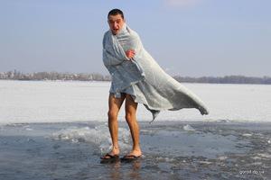 Как в Днепре проходят крещенские купания