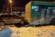 В Днепре на Слобожанском проспекте Toyota врезалась в автобус: видео момента ДТП