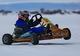 Зимние заезды по льду Днепра