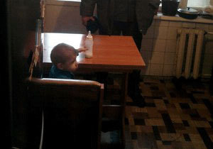 В Павлограде спасатели сняли с балкона третьего этажа двоих детей