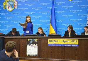 Их оружие - слово: в ДнепрОГА прошел финал дебатного турнира для школьников Dnipro Open 2017