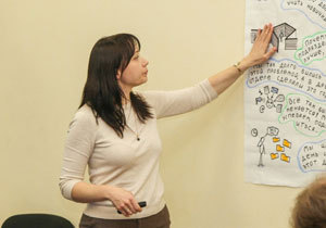 Для работников ДнепрОГА провели тренинг по проектному менеджменту