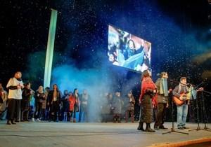 Днепр почтил память героев Небесной сотни спектаклем-реквиемом