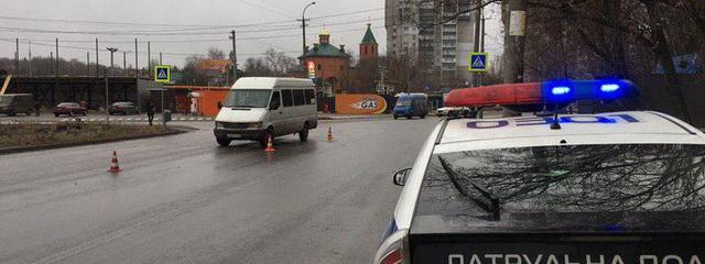 В Днепре маршрутка 119 сбила женщину на пешеходном переходе