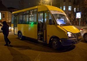 В центре Днепра маршрутка №101 сбила пожилую женщину на пешеходном переходе
