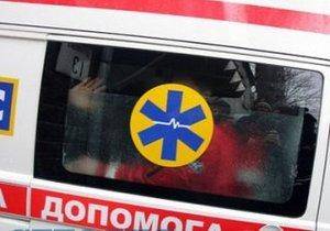 В Днепре, после спасания на пожаре, мужчина умер в карете скорой помощи по дороге в больницу