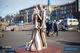 В центре Каменского открыли скульптуру влюбленных