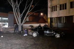 В Днепре водитель Audi убегал от полиции и сбил трех пешеходов: один человек погиб