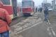 В Днепре  трамваи №5 и №9 сошли с рельс